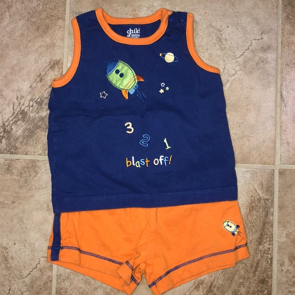 Child of Mine Carter/'s Infant Boys 2 Pc Overall//Polo NWT 0-3 3-6,6-9,12 months